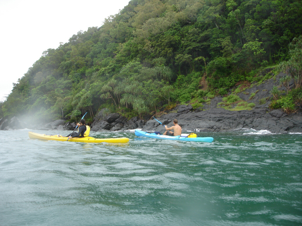 Queensland sea kayaking