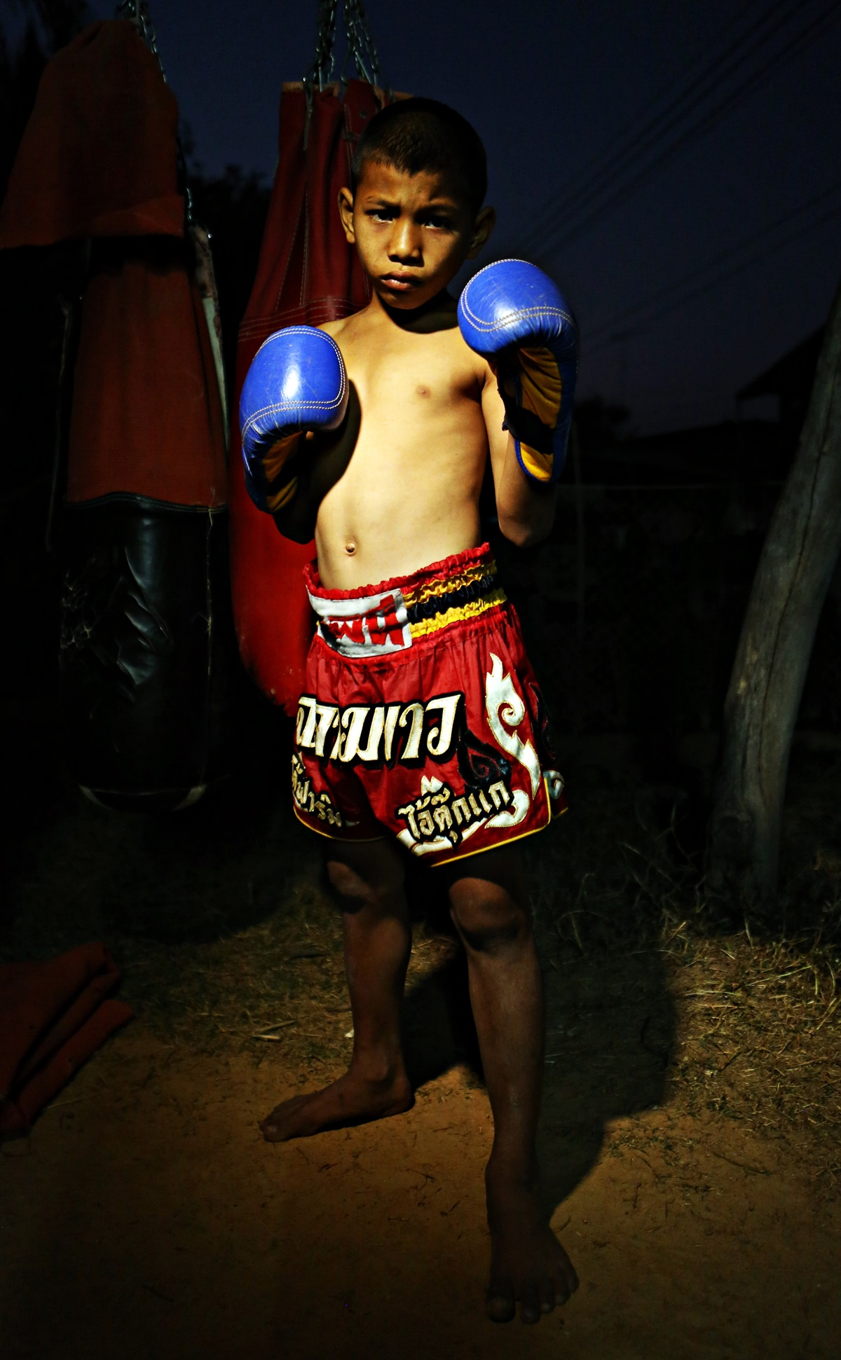 Nat Thanarak, 11 year old prize fighter