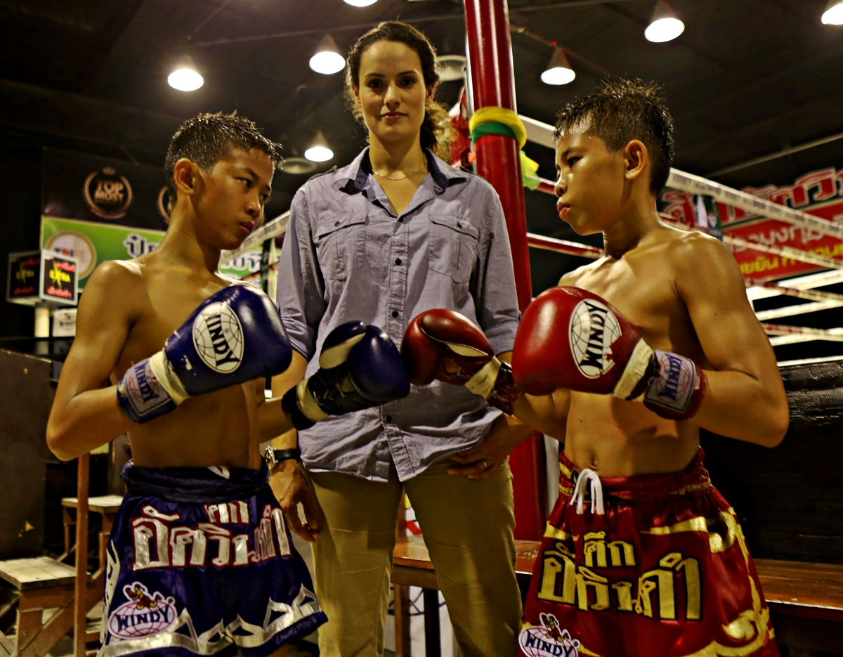 """Baby Millions"" fighters in Bangkok"