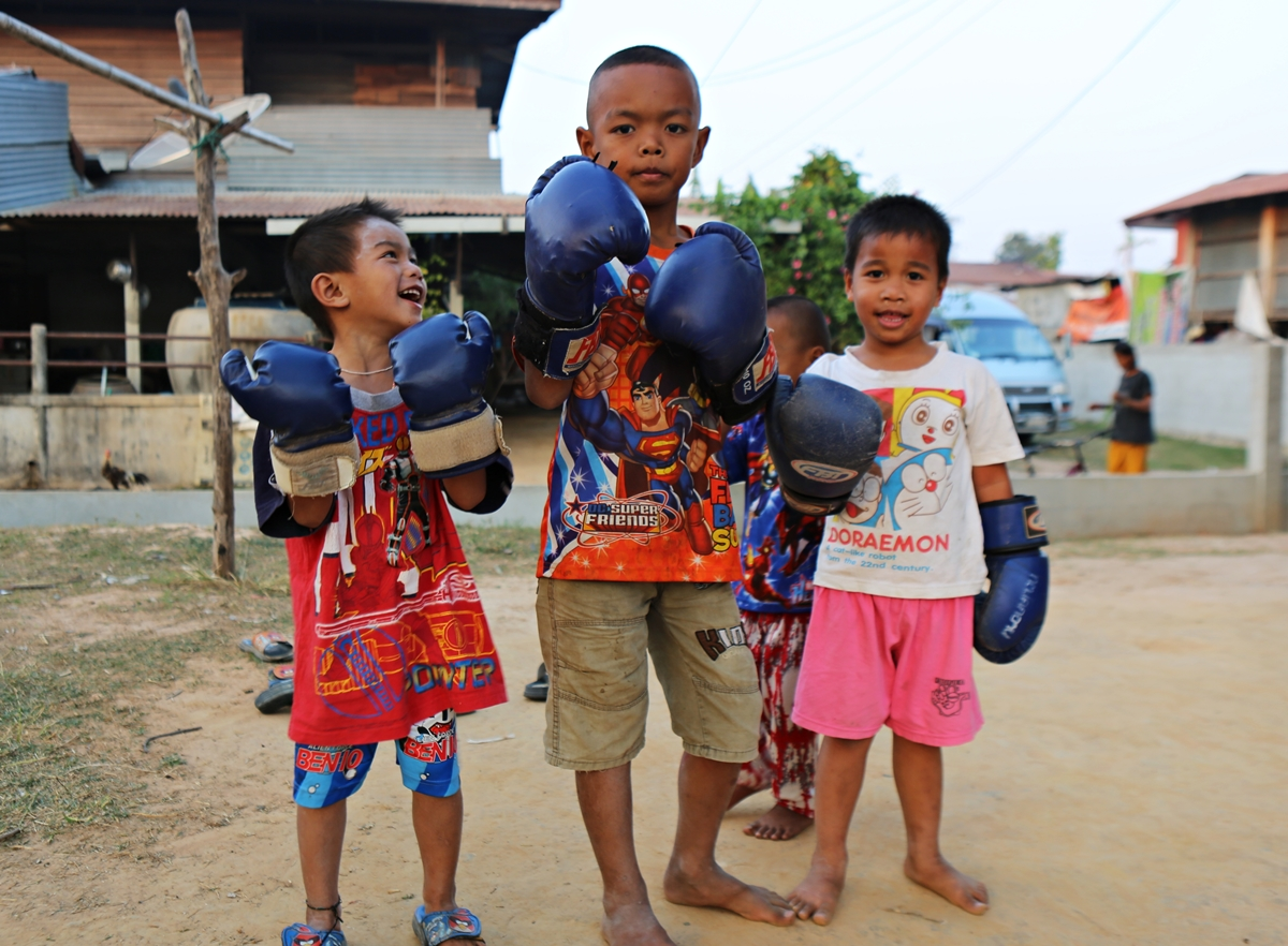 Everywhere you look, kids are doing Muay Thai